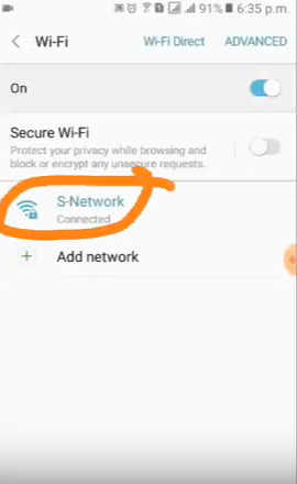 Find Router IP on android