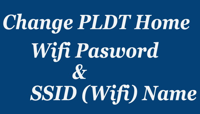 pldt home dsl wifi password change