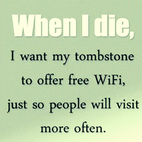 funny wifi quotes